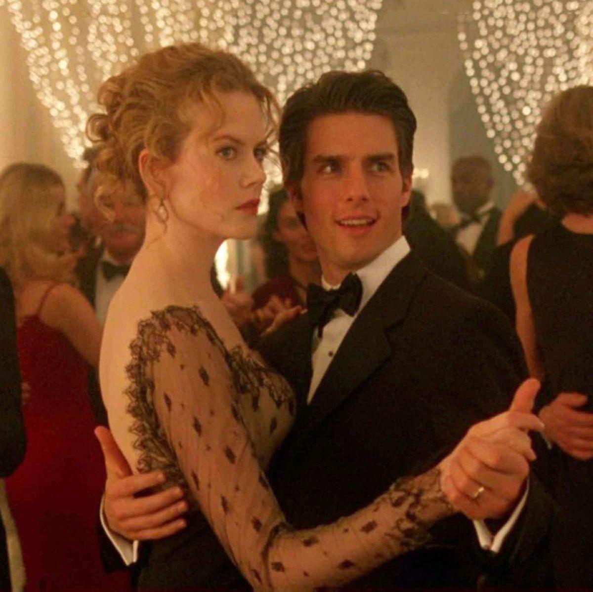 Με τον πρώην συζυγό της, Tom Cruise, στην ταινία που συμπρωταγωνιστούσαν, Μάτια Ερμητικά Κλειστά