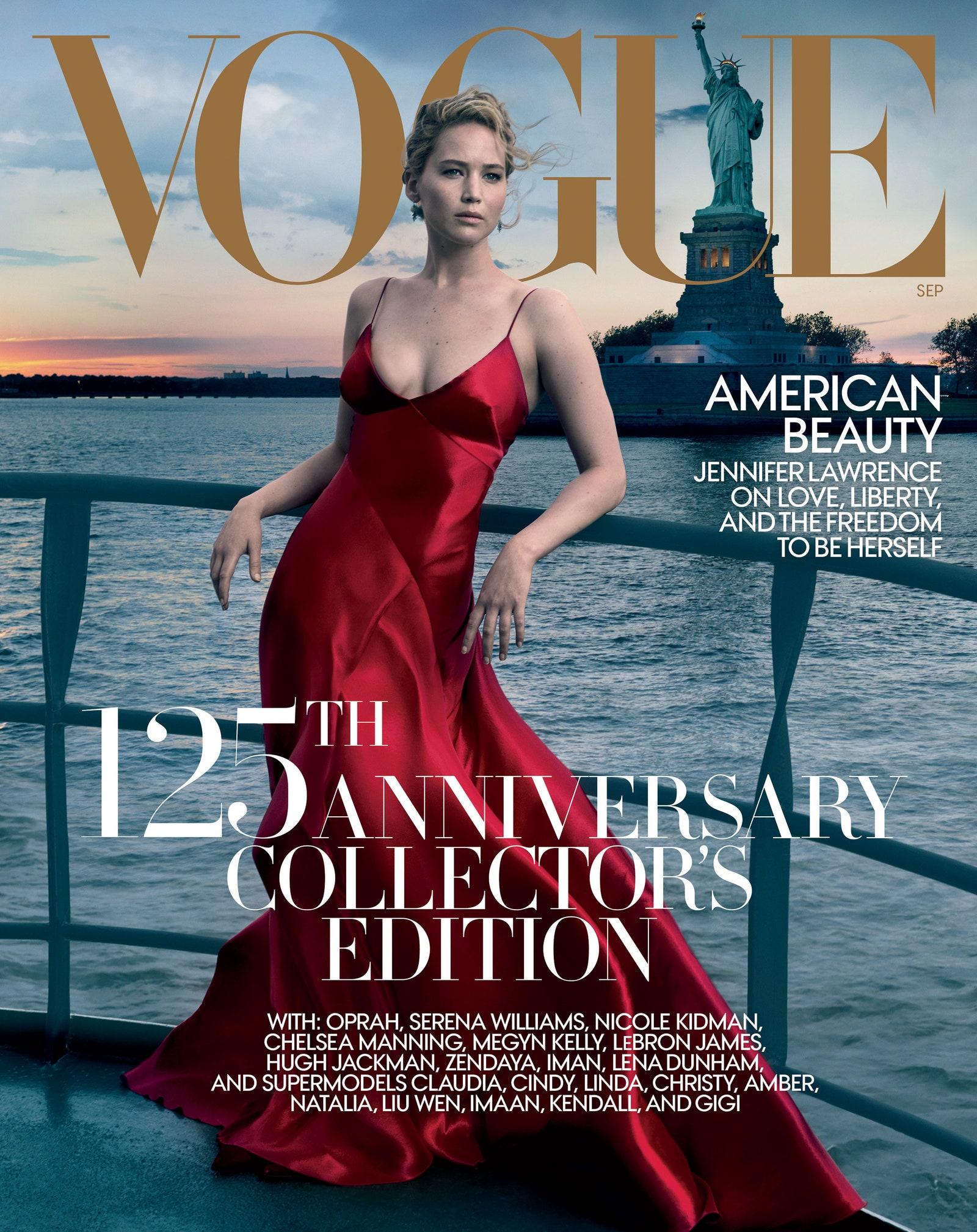 Jennifer Lawrence Vogue cover September 2017