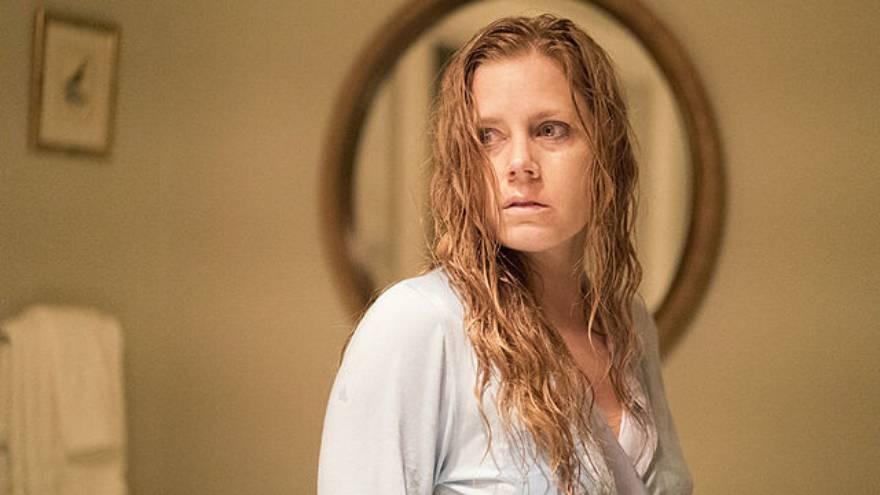 Η Ειμι Άνταμς στην ταινία «Γυναίκα στο παράθυρο» στο Netflix