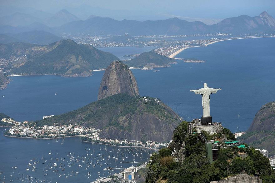Το άγαλμα του Χριστού στο Ρίο ντε Τζανέιρο
