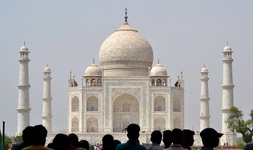 Το Ταζ Μαχάλ στην Ινδία