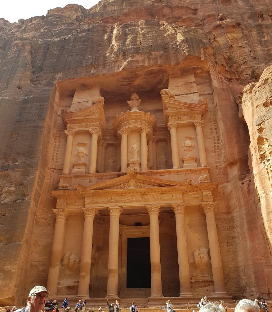 Το θησαυροφυλάκιο στην Πέτρα της Ιορδανίας