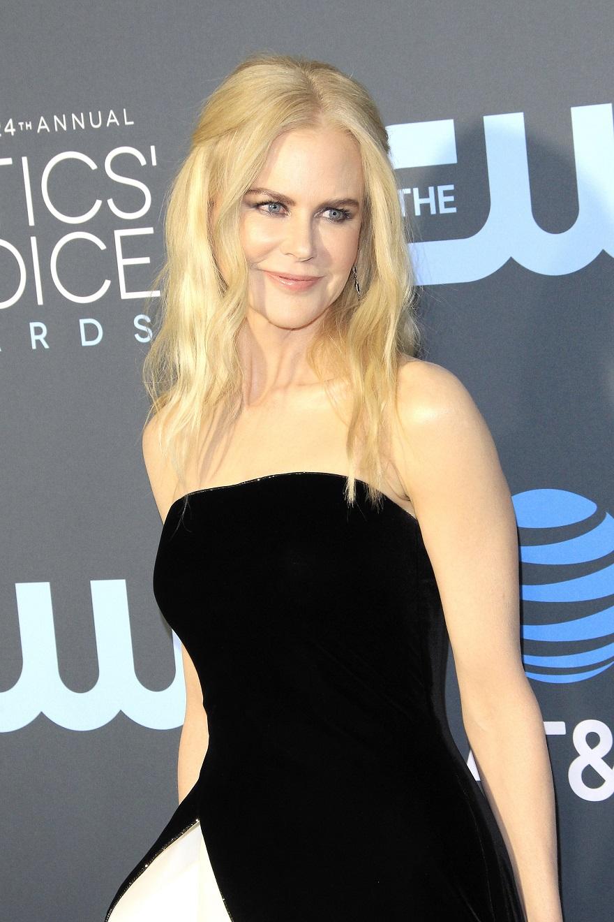 Η Nicole Kidman στα 24th Annual Critics' Choice Awards στην Καλιφόρνια, το 2019