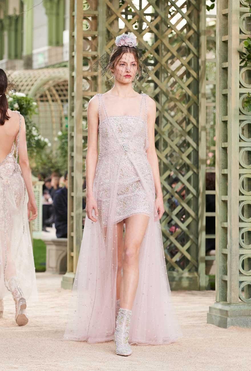 5a4bc8bbf5b6 Karl Lagerfeld s Inspiration for the Spring-Summer 2018 Haute Couture  collection - CHANEL