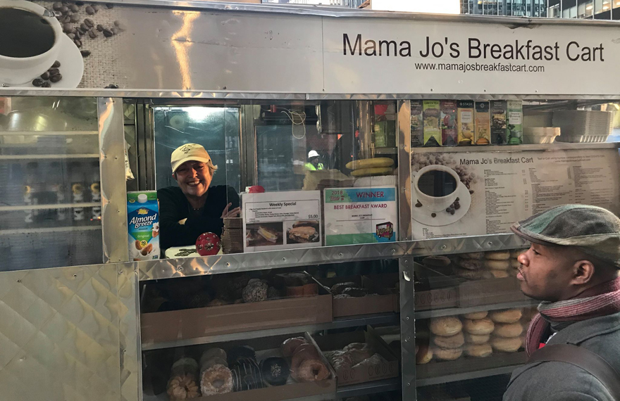 ioanna despa, Mama Jo's Breakfast Cart