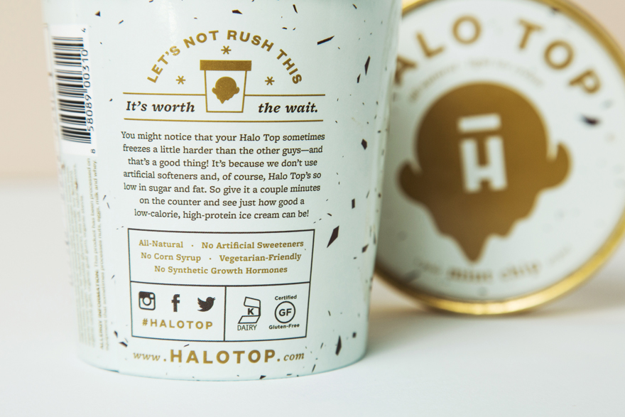 Halo Top - Gluten free