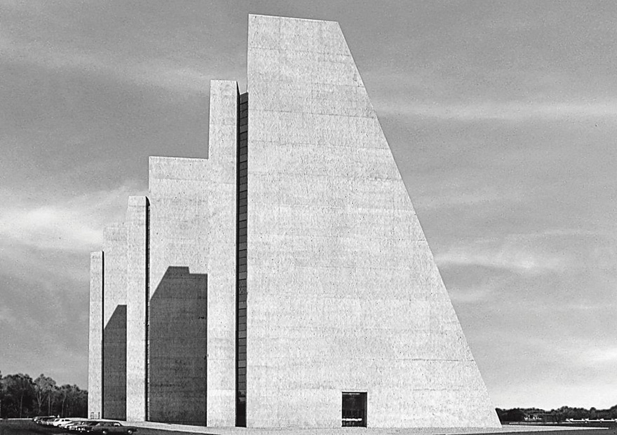 College Life Insurance Company Of America Headquarters, Kevin Roche John Dinkeloo & Associates, Indianapolis, Indiana, USA, 1972