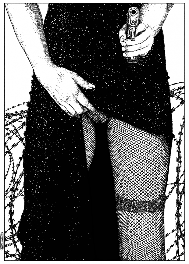 L'alternative (You don't mess with Barb) © Apollonia Saintclair