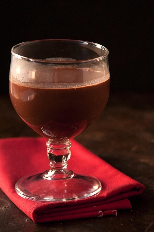 Σοκολάτα με κόκκινο κρασί