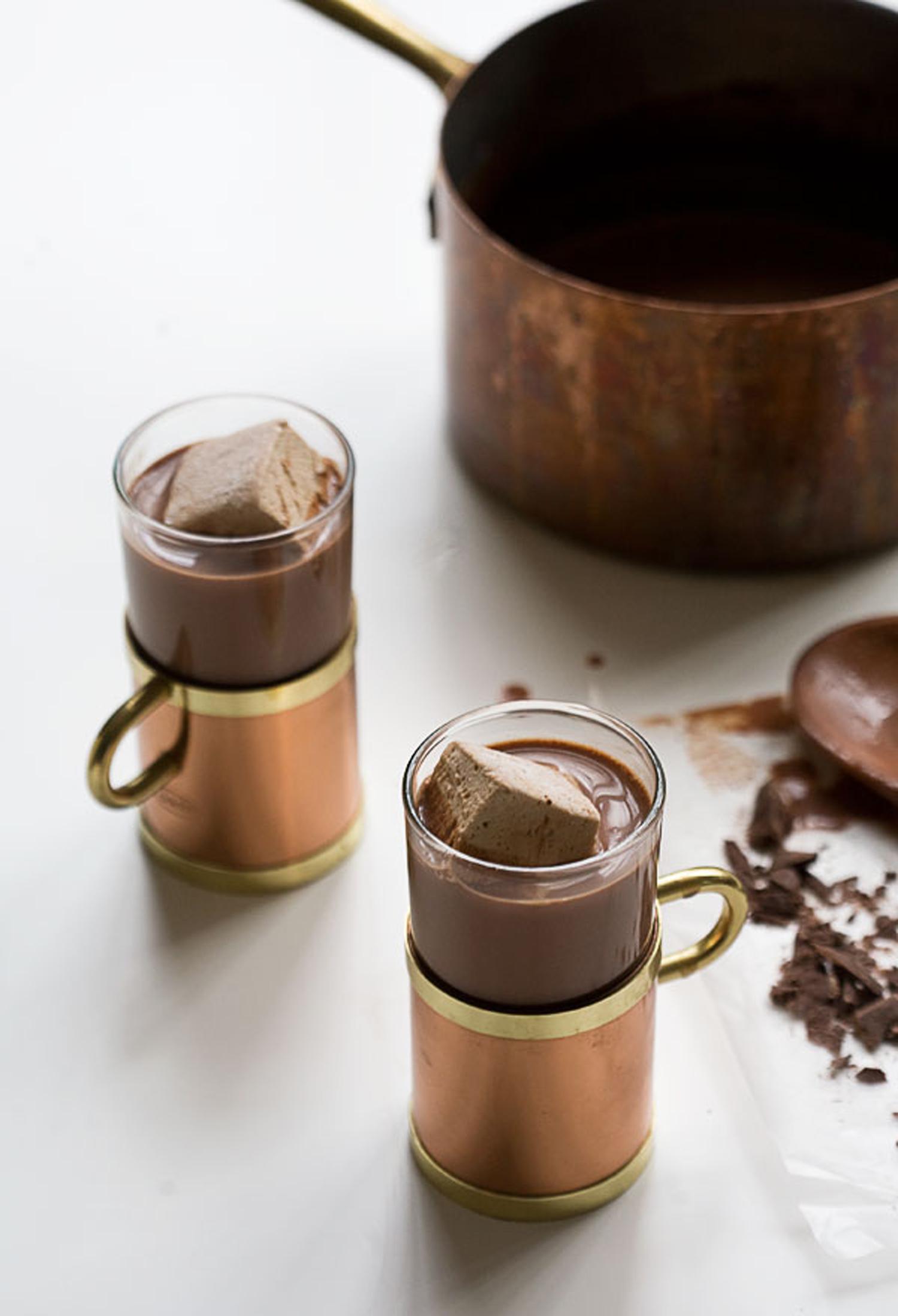 Σοκολάτα με βανίλια, κανέλα και αλάτι