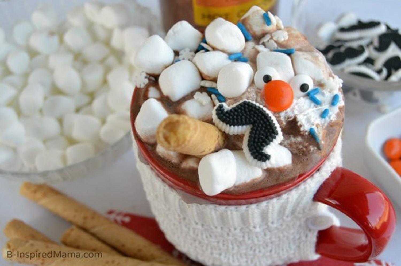 Σοκολάτα «σούπα χιονάνθρωπου»