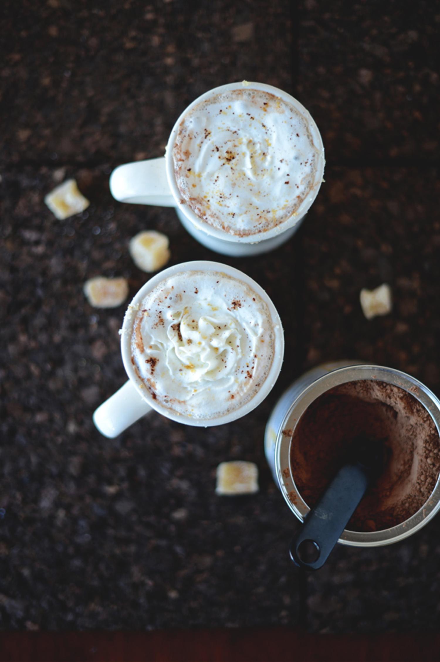 Σοκολάτα με ginger