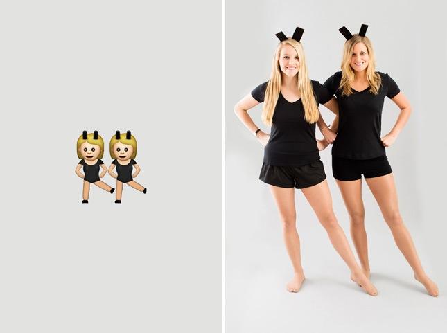 77e64e0d5374 Πάρε την κολλητή σου που επίσης δεν έχει στολή γιατί βαριέται εξίσου και  μεταμφιεστείτε σε emojis.