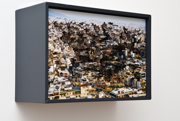 Michel Lamoller, Layerscape (Acity#4) (Courtesy of Nitra Gallery, Athens/Thessaloniki)