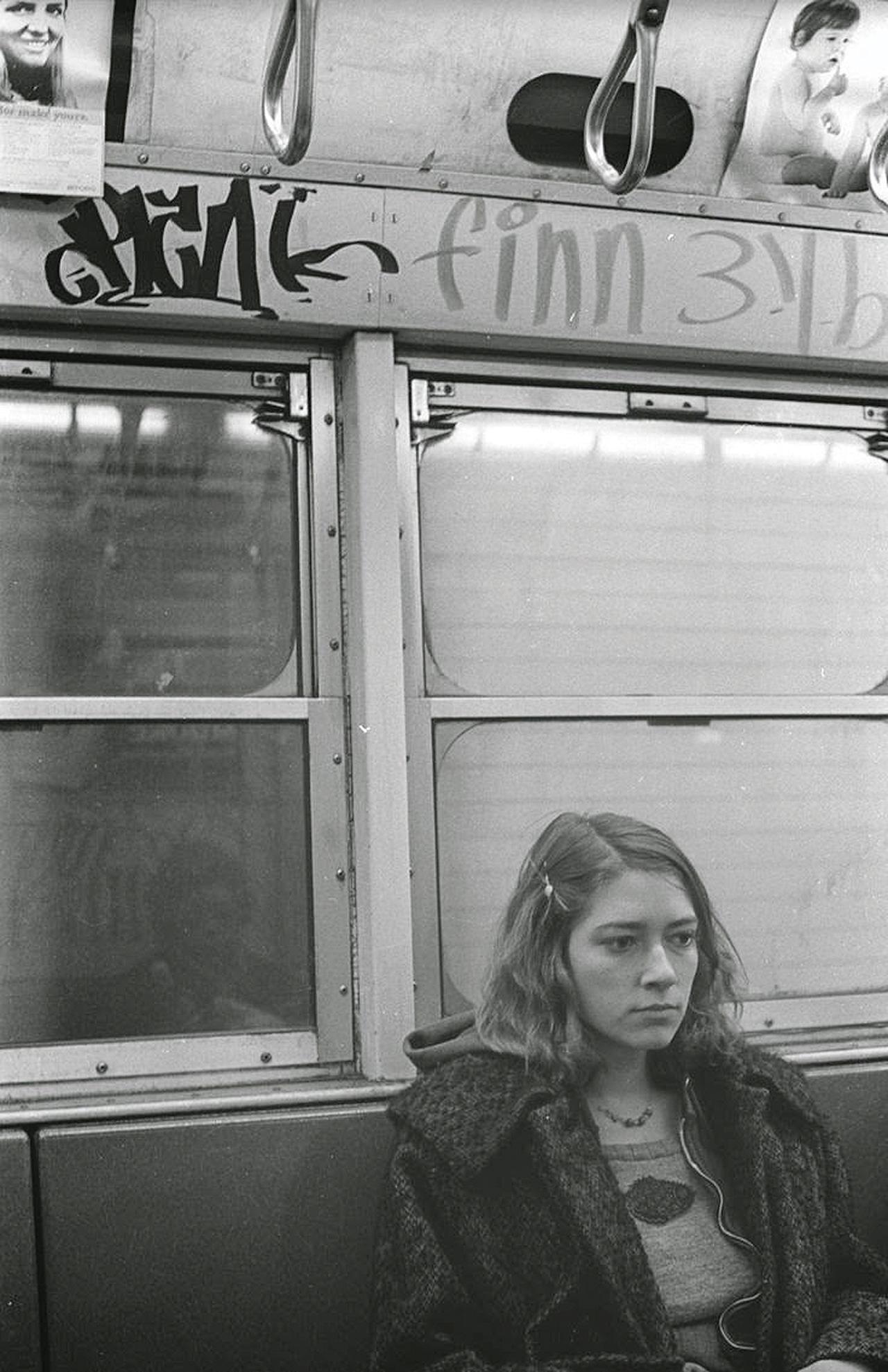 Kim Gordon, New York Subway, 1970s