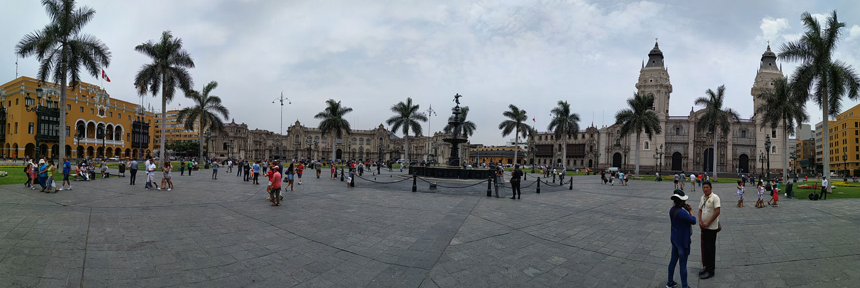 Λίμα, Plaza de Armas