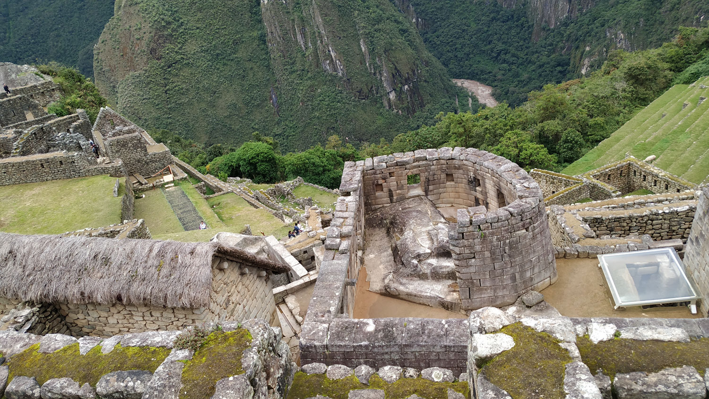 Machu Picchu. Ο ναός του ήλιου
