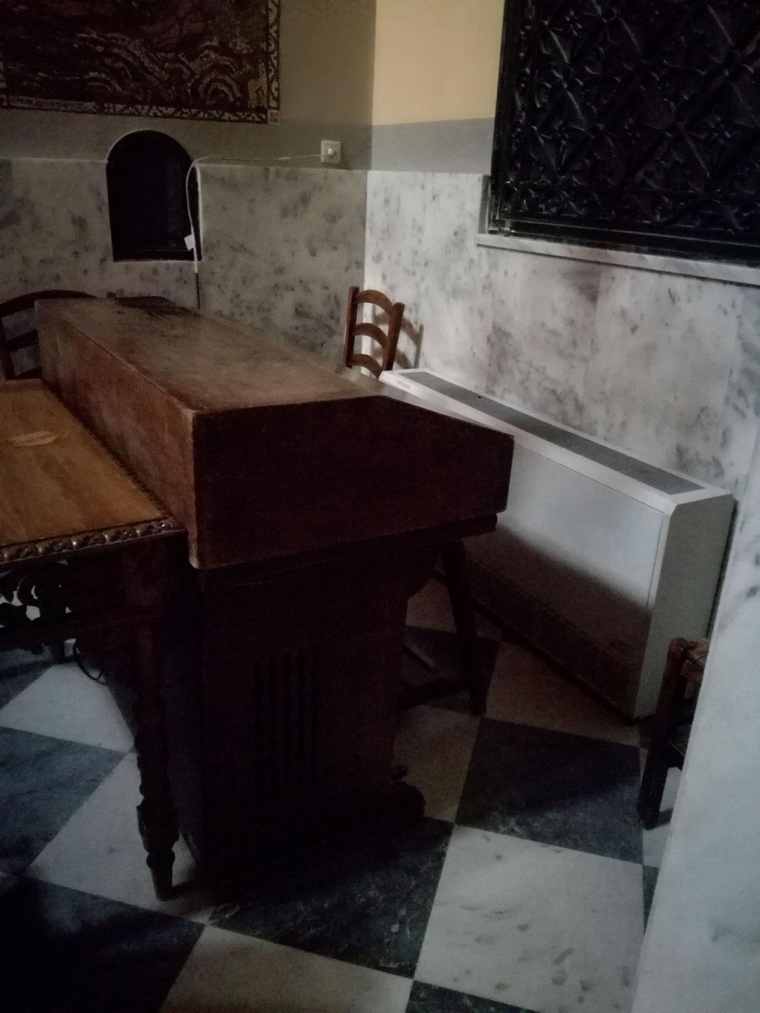 Το αρμόνιο της εκκλησίας Αγ. Σωτείρας Κοττάκη