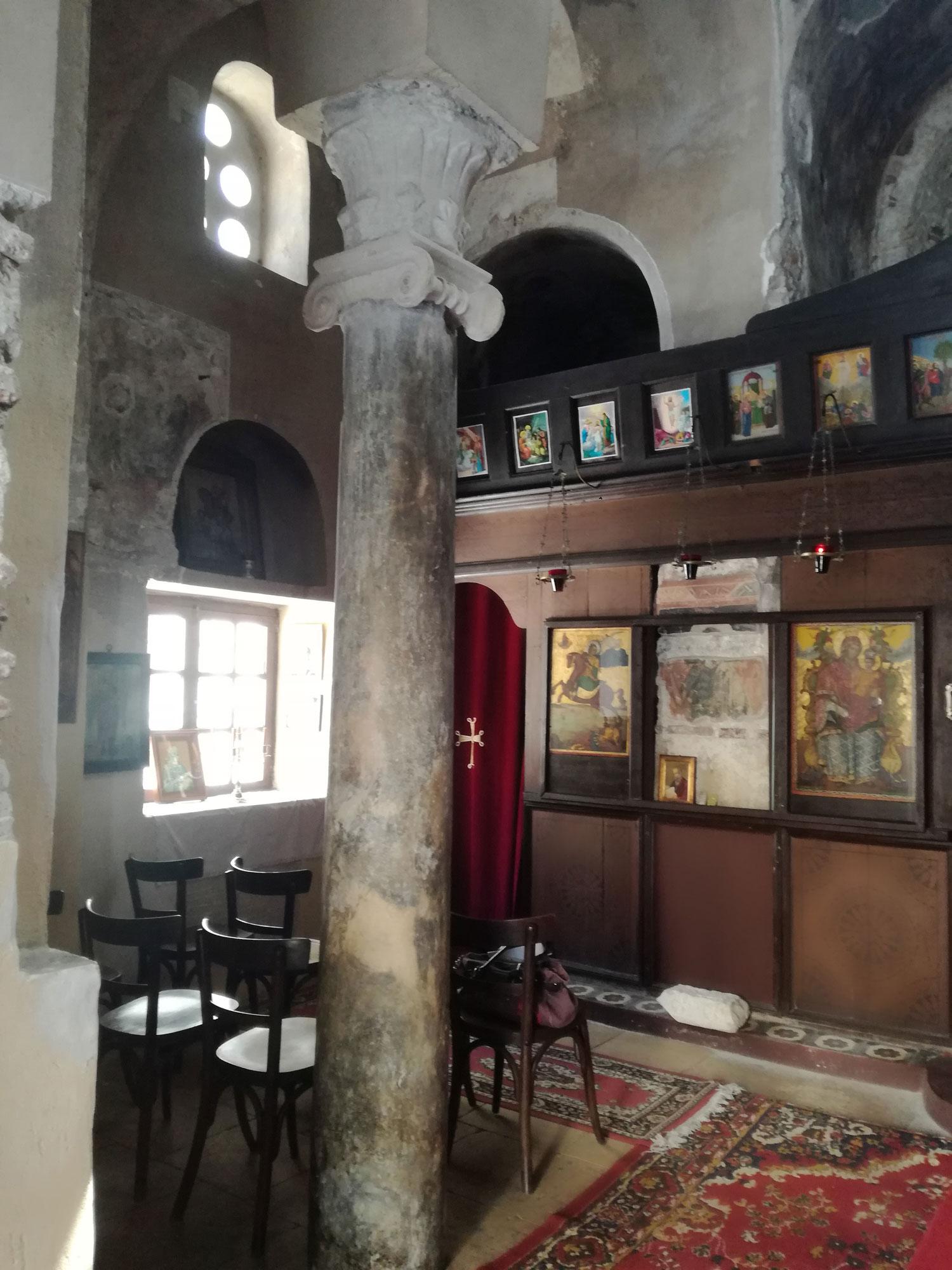 Εσωτερικό του Αγίου Ιωάννη του Θεολόγου