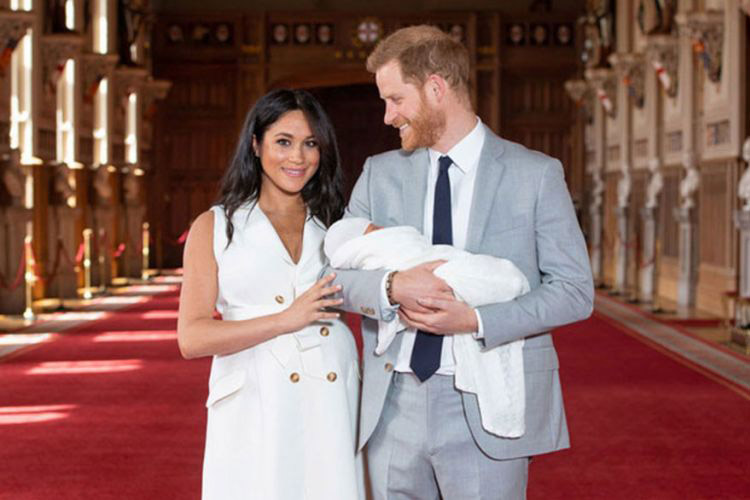 Μέγκαν Μαρκλ - Πρίγκιπας Χάρι - Baby Sussex