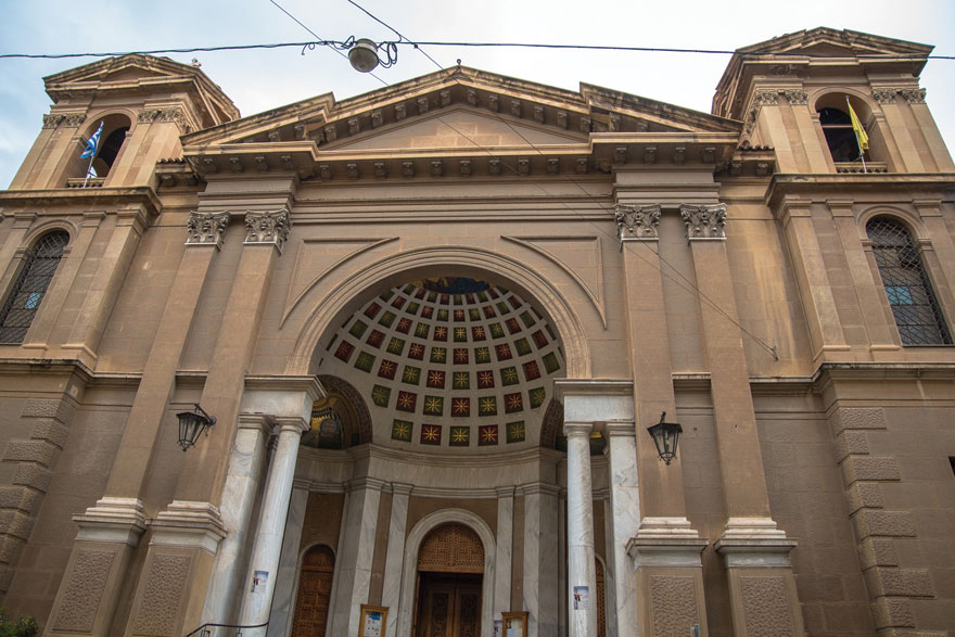 Η εκκλησία του Αγίου Διονυσίου Αρεοπαγίτου