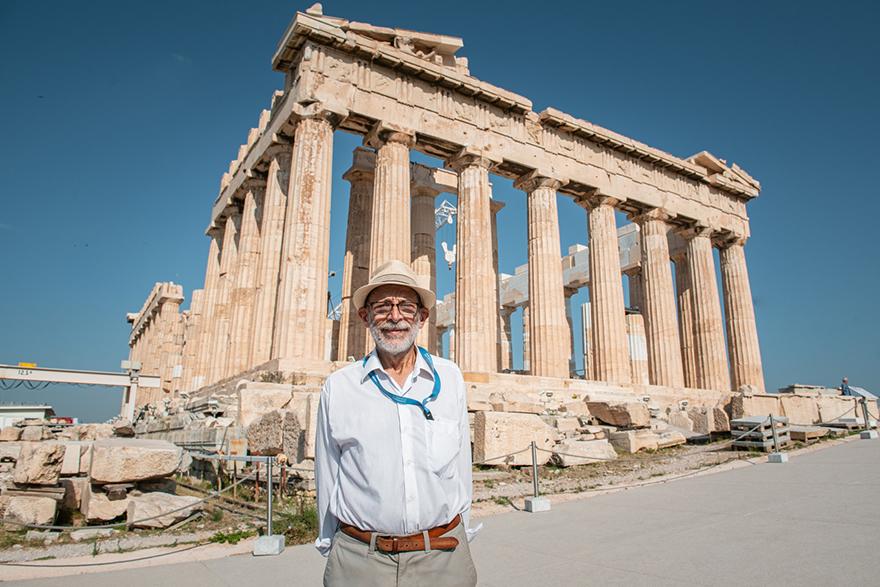 Ο Μανόλης Κορρές βρέθηκε μαζί με την Παραολυμπιακή Ομάδα, στην Ακρόπολη