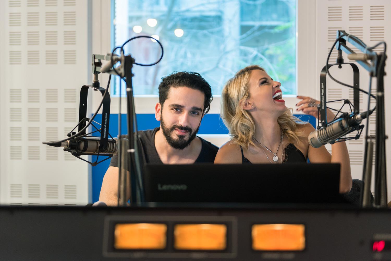 Τζένη Μελιτά- Διονύσης Ατζαράκης. Athens Voice Radio.