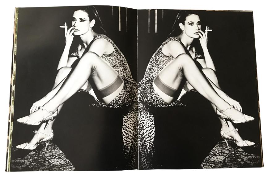 H Demi Moore φωτογραφημένη το 1996 από την Ellen Von Unworth για το Interview. @Book Dolce&Gabbana edit. Schirmer/Mosel, Munchen 1998