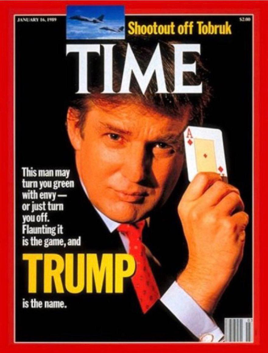 Ντόναλντ Τραμπ, Time