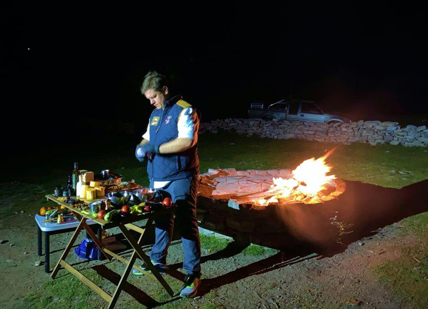 Ο περουβιανός σεφ Juan Danilo μαγείρεψε στον Όλυμπο