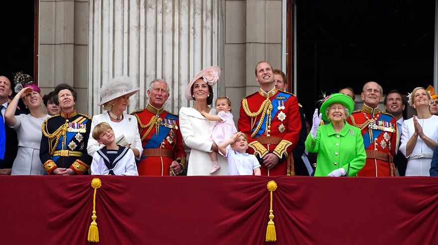 Βρετανία - Βασιλική οικογένεια