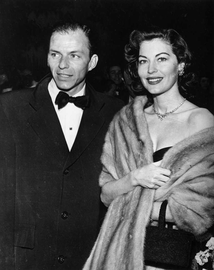 Ο Frank Sinatra με την δεύτερη σύζυγό του, Ava Gardner
