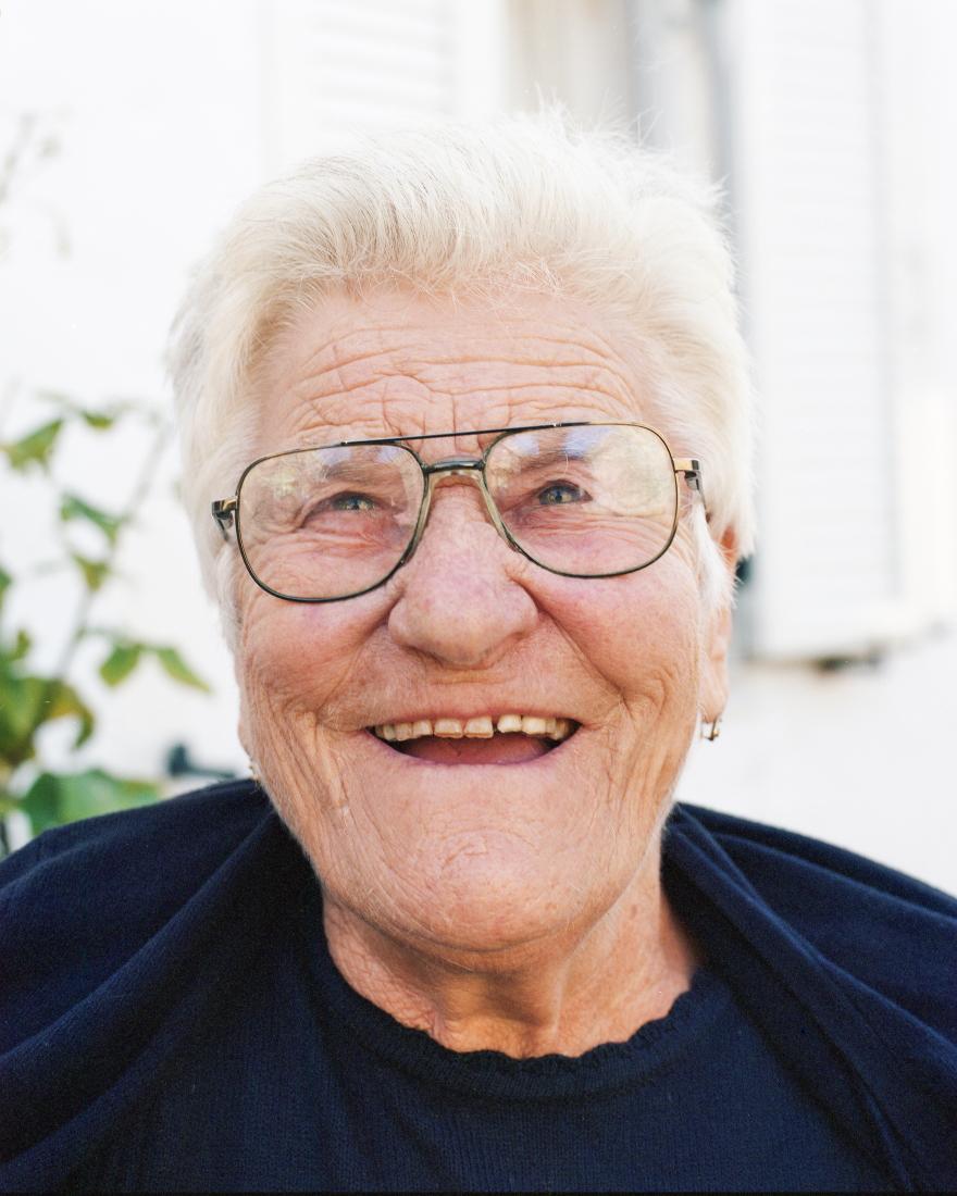 Η γιαγιά Αναστασία από το Περιβόλι της Κέρκυρας