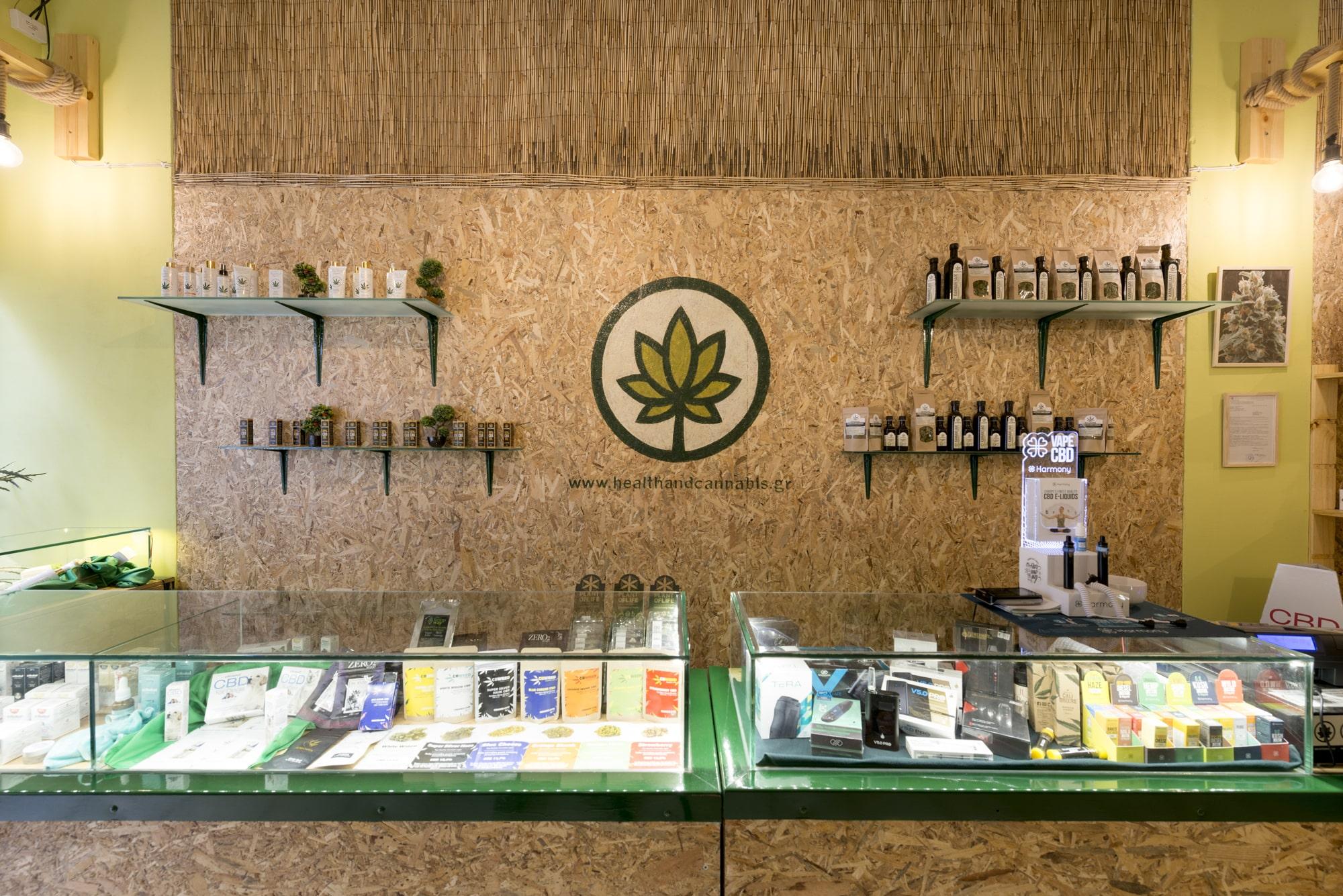 Health & Cannabis CBD προϊόντα