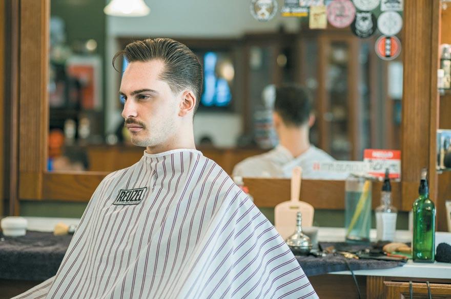 Hood Branded AC Barbershop