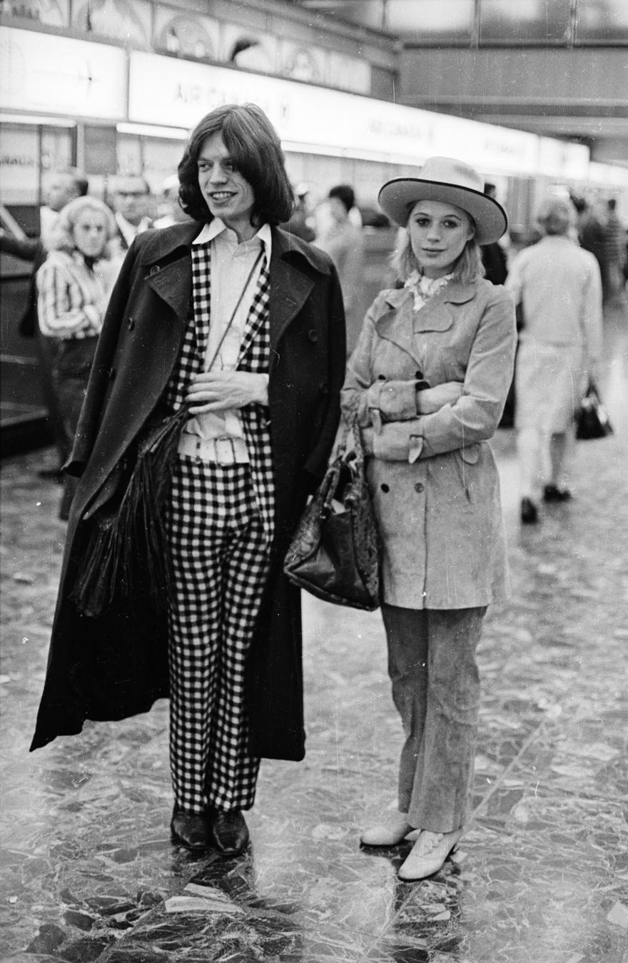 Mick Jagger και Marianne Faithfull