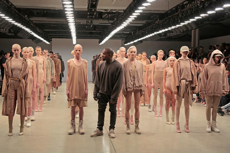 O Kanye West στην Εβδομάδα Μόδας της Νέας Υόρκης