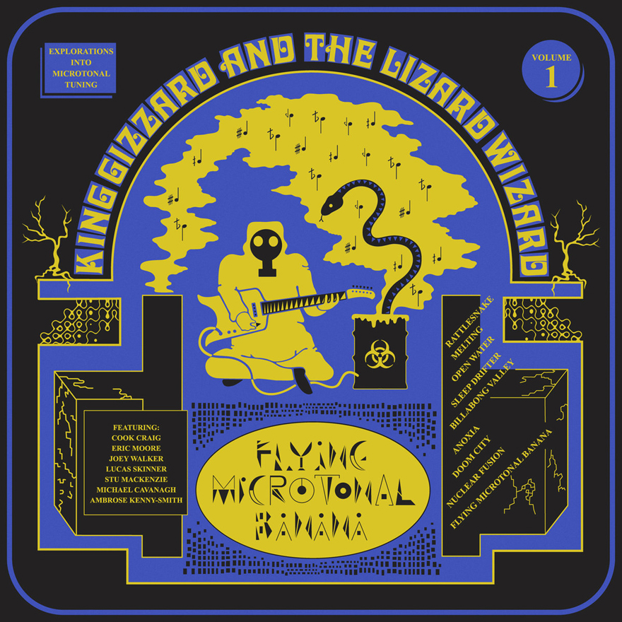 King Gizzard and the Lizard Wizard - Flying Microtonal Banana