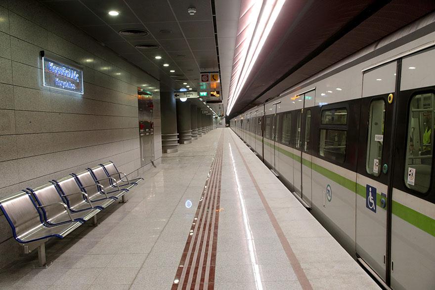 Έτοιμος ο νέος σταθμός του μετρό στον Κορυδαλλό της γραμμής 3