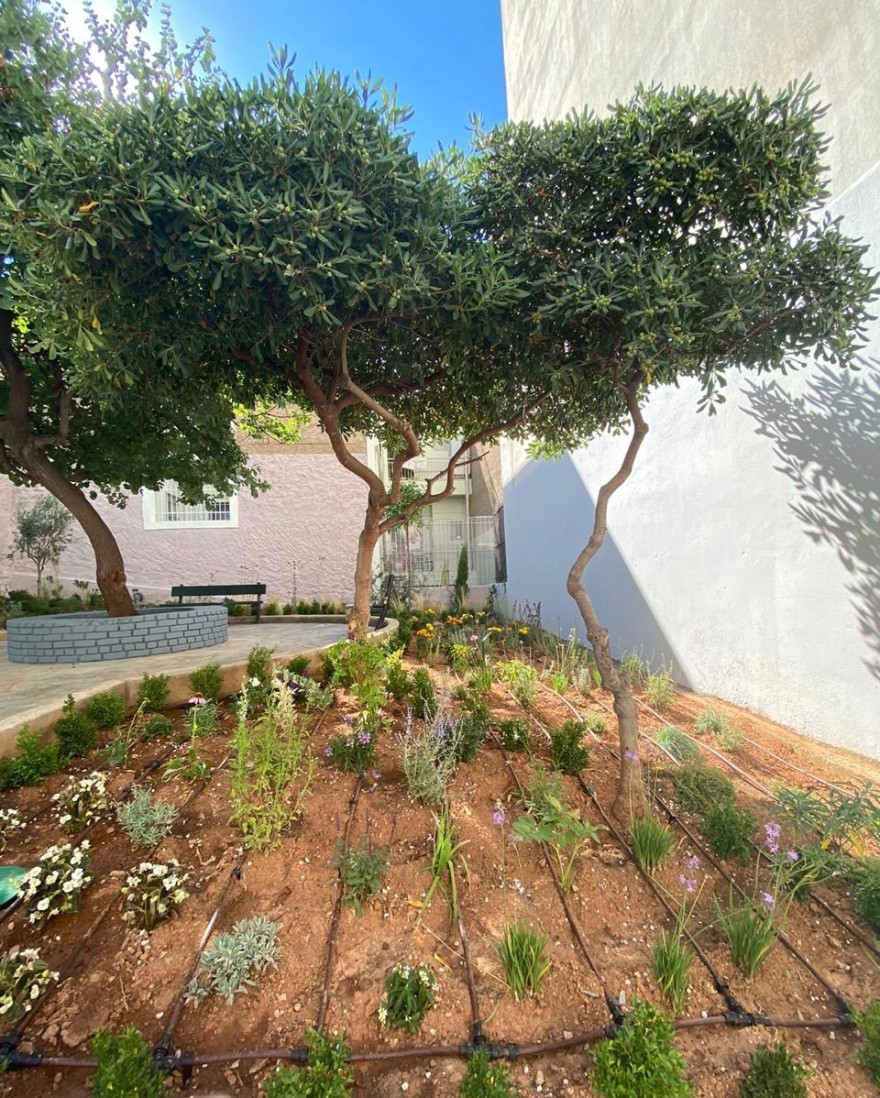 Δήμος Αθηναίων: Ένα πανέμορφο πάρκο τσέπης στην Άνω Κυψέλη