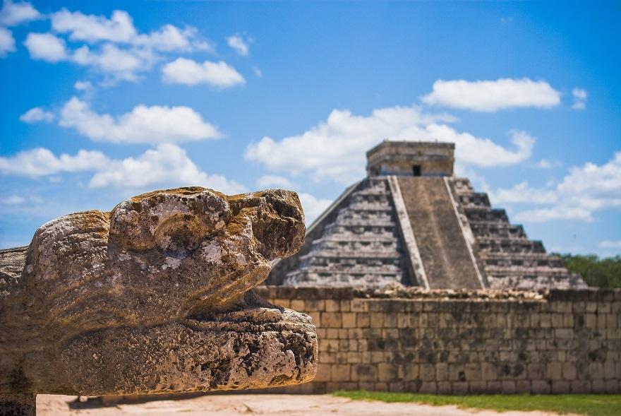 Ο ναός των Αζτέκων στη Τιτσέν Ίντζα, Μέριντα στο Μεξικό