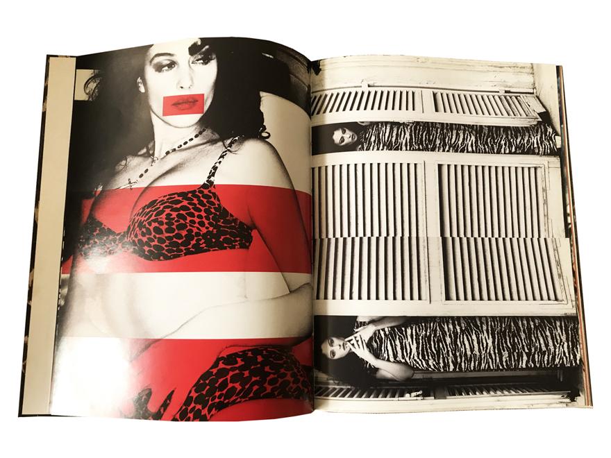 Η Μόνικα Μπελούτσι φωτογραφημένη το 1996 από την Ellen Von Unwerth για το ΑRENA. @Book Dolce&Gabbana edit. Schirmer/Mosel, Munchen 1998