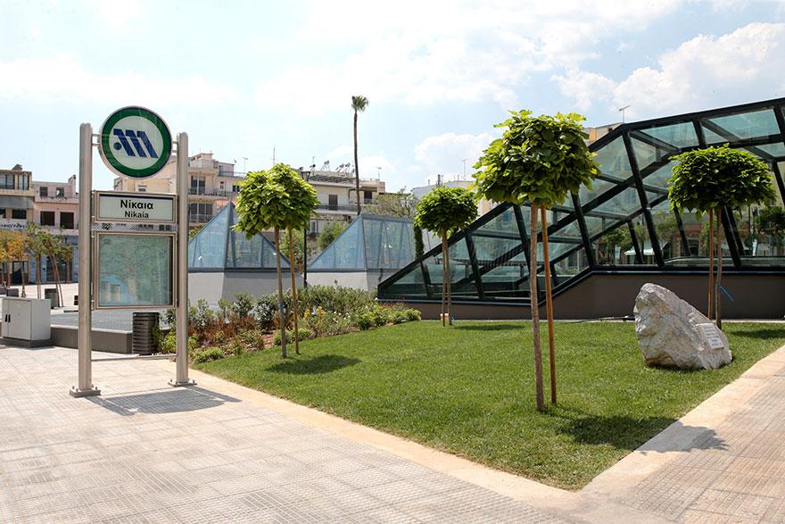 Νέοι σταθμοί του μετρό στη γραμμή 3 - Ο σταθμός στη Νίκαια