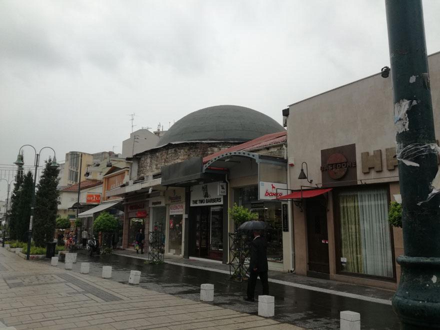 Οθωμανικό χαμάμ στο κέντρο της Λάρισας