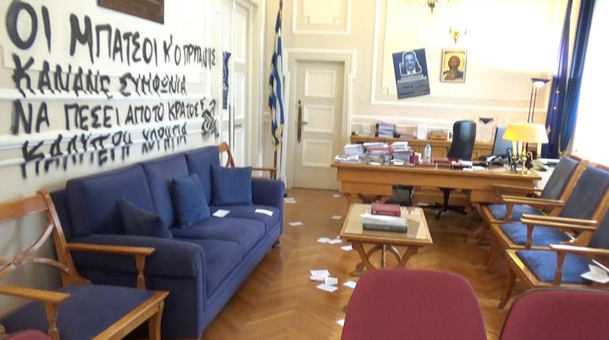 Οικονομικό Πανεπιστήμιο Αθηνών: Εισβολή αγνώστων στο γραφείο του πρύτανη