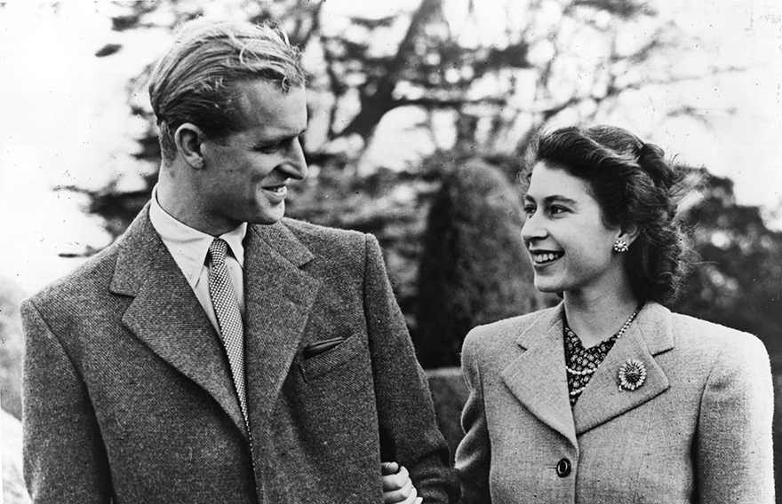 Πρίγκιπας Φίλιππος - Βασίλισσα Ελισάβετ, 1947