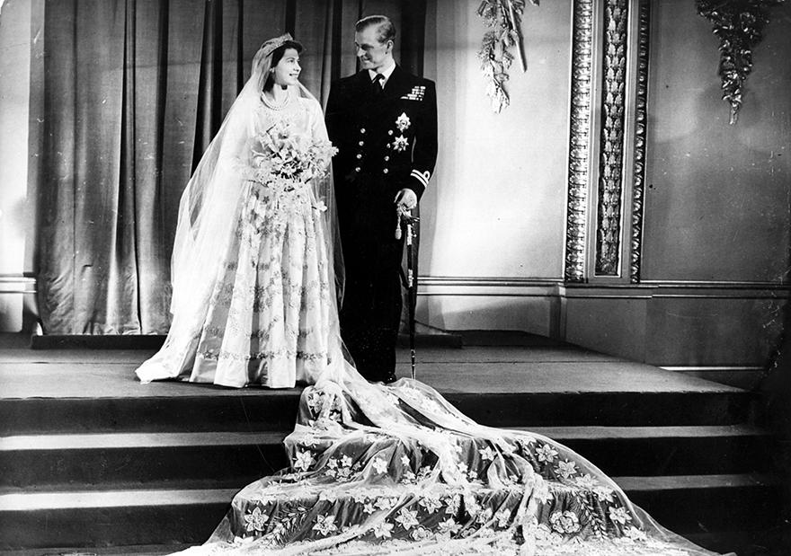 Ο γάμος της βασίλισσας Ελισάβετ και του πρίγκιπα Φίλιππου