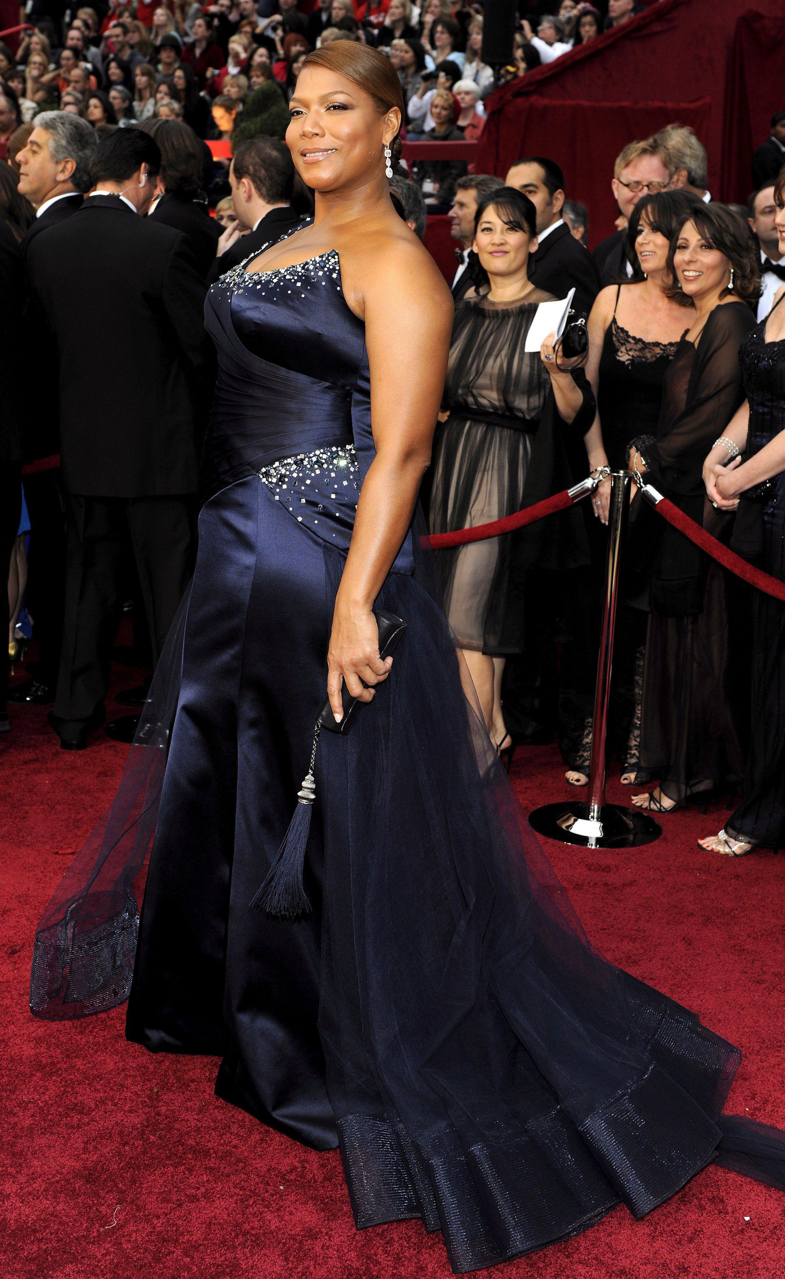 H Queen Latifah στο κόκκινο χαλί των Όσκαρ