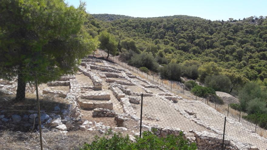 Μυκηναϊκή Ακρόπολη ή Παλάτι του Αίαντα
