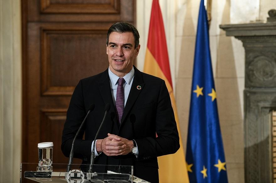 O πρωθυπουργό της Ισπανίας, Πέδρο Σάντσεθ